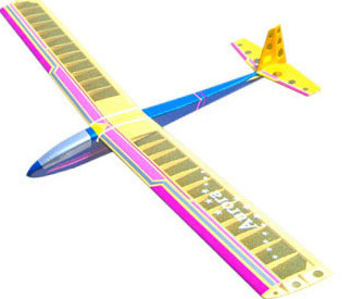 West Wings Model Aircraft Kit - Aurora (radio control) | at Mighty