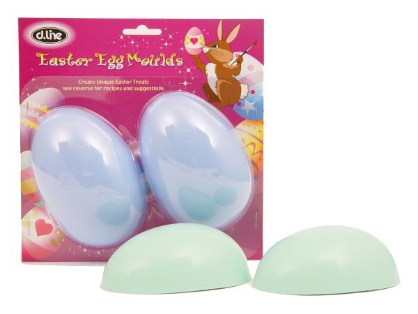 Large Plain Egg Mould - Set of 2