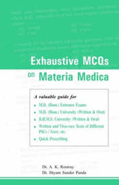 Exhaustive MCQs on Materia Medica by A.K. Routray image