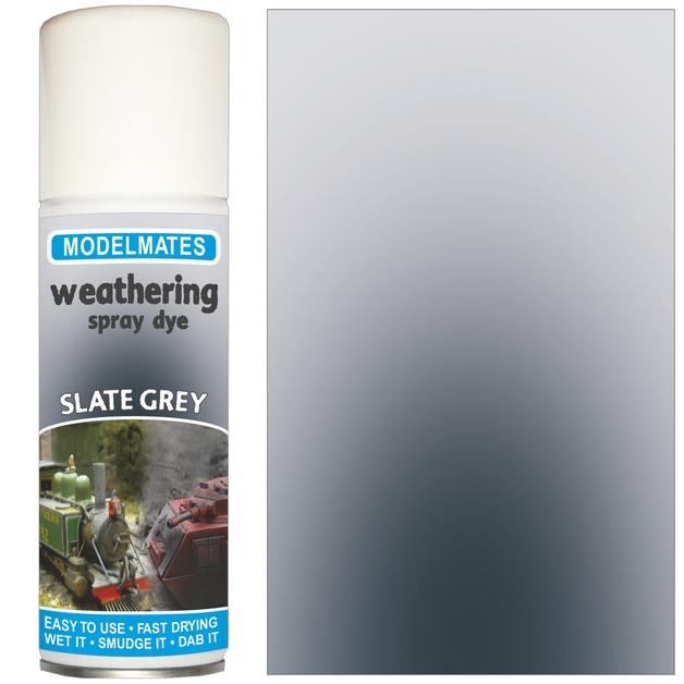 Modelmates: Weathering Spray Can - Slate Grey