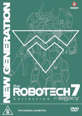 Robotech - New Generation: Collection 7 on DVD
