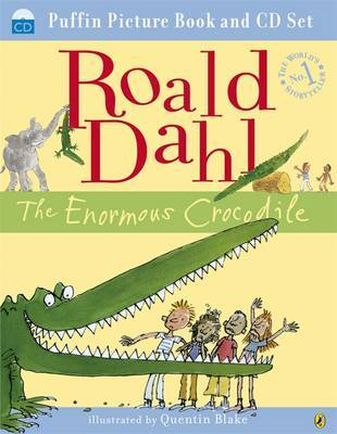 The Enormous Crocodile (Picture Book & CD Set) by Roald Dahl image