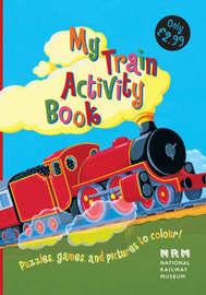 My Train Activity Book by Gaby Morgan image