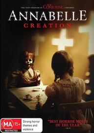 Annabelle: Creation on DVD image