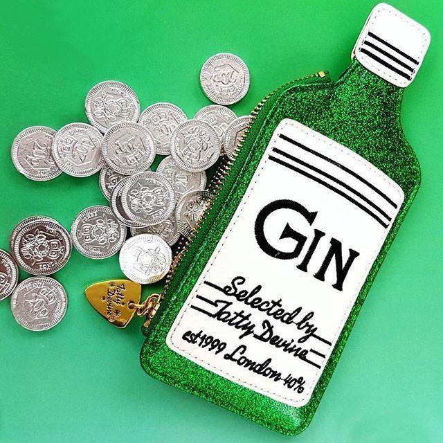 Tatty Devine Coin Purse Gin image