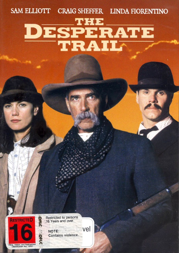 Desperate Trail on DVD image