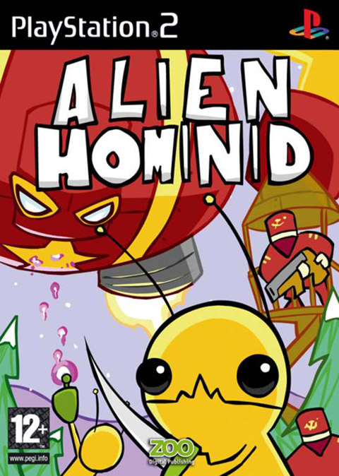 Alien Hominid for PlayStation 2 image