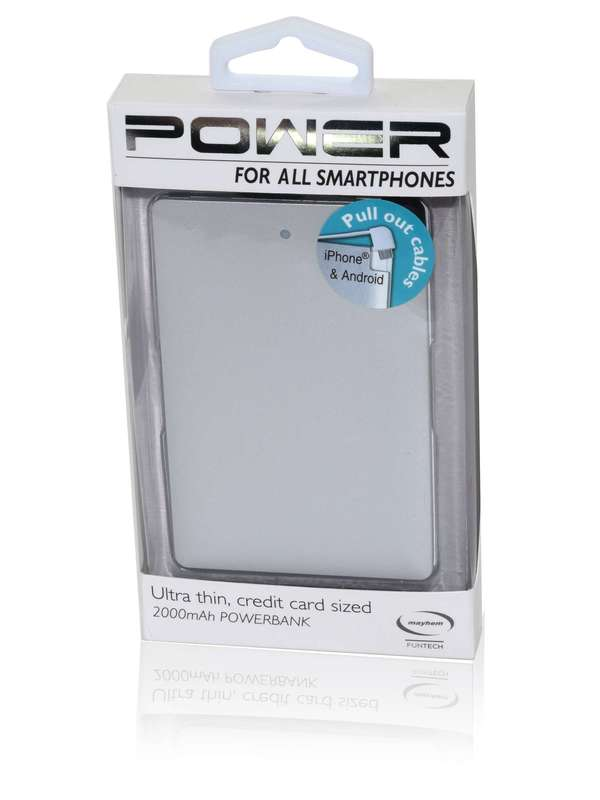 Mayhem Power Bank Grey