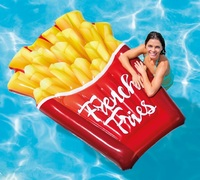 "Intex: French Fries - Inflatable Lounger (69"" x 52"")"