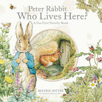 Peter Rabbit Who Lives Here? by Fiona Phillipson image