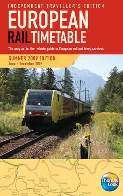 European Rail Timetable Independent Travellers: 2009: Summer image