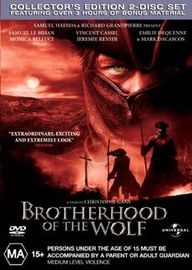 Brotherhood of the Wolf (2 disc) on DVD image