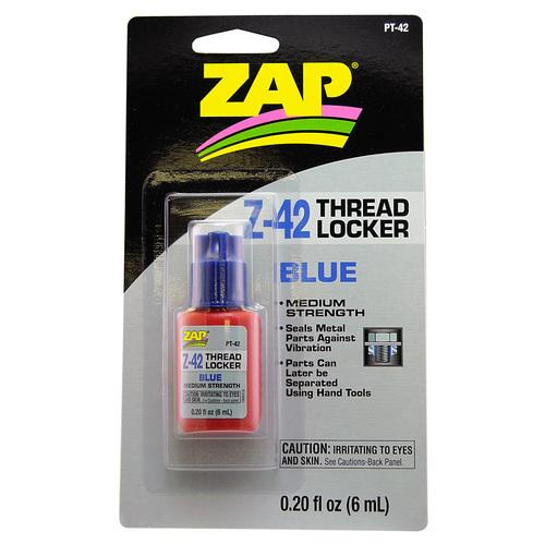 Zap Z-42 Blue Thread Locker 6ml