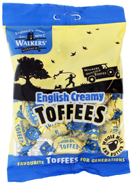 Walkers' Nonsuch English Creamy Toffees (150g)