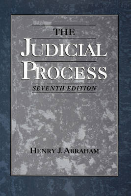 The Judicial Process by Henry J. Abraham image