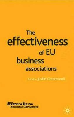 The Effectiveness of EU Business Associations