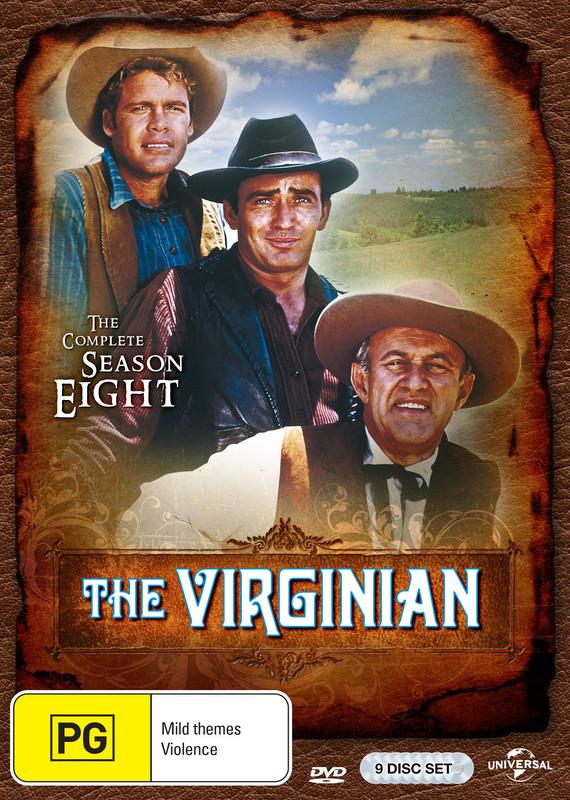 The Virginian - Season 8 on DVD
