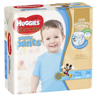 Huggies Ultimate Nappy Pants Bulk - Junior Boy 16+ kg (26)