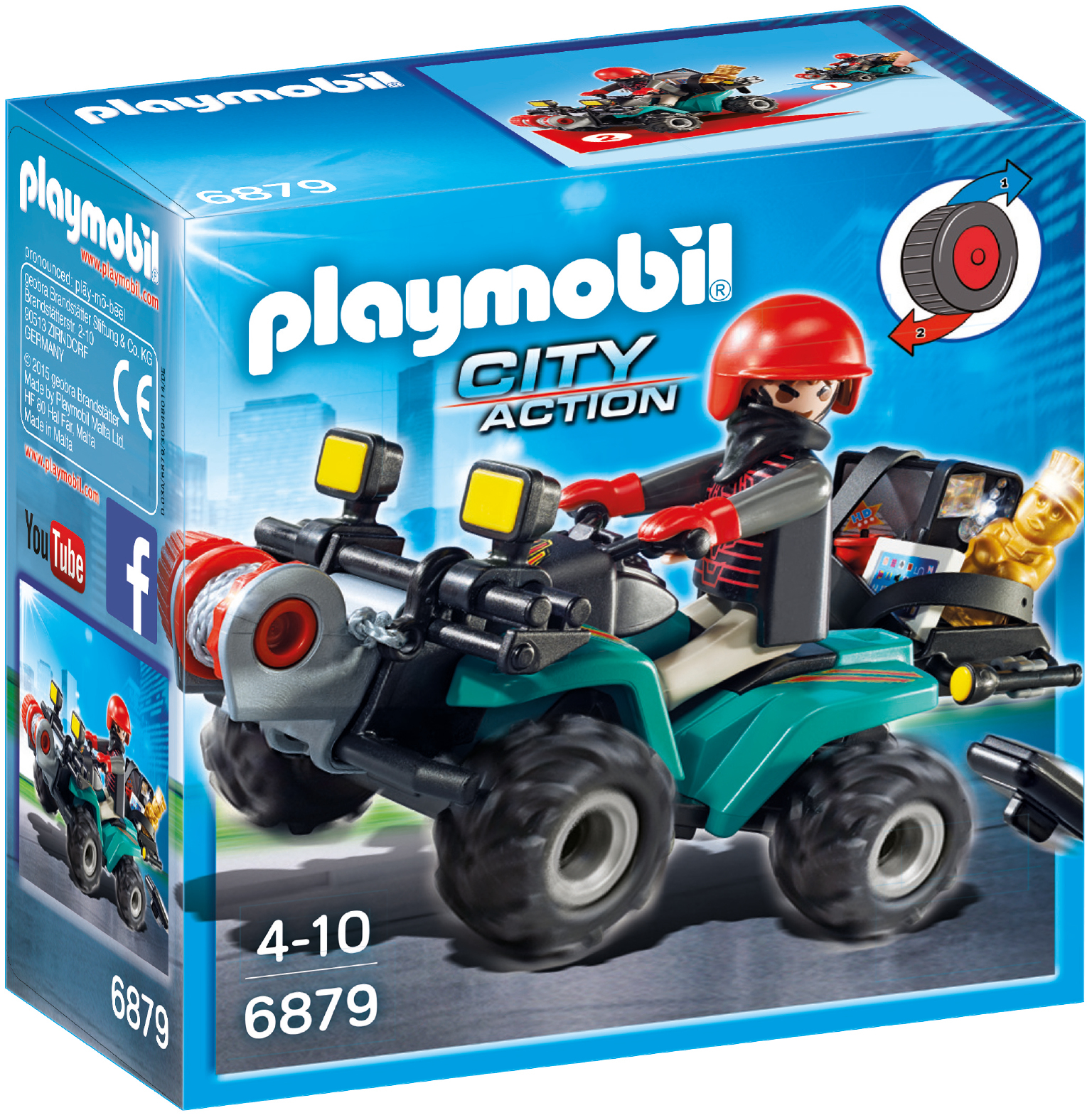 Playmobil: Robber's Quad with Loot image