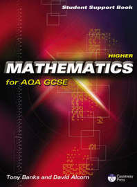 Higher Mathematics for AQA GCSE - Student Support Book by Tony Banks image
