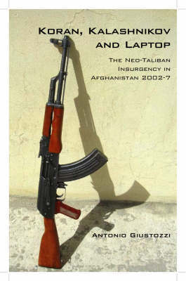 Koran, Kalashnikov and Laptop by Antonio Giustozzi
