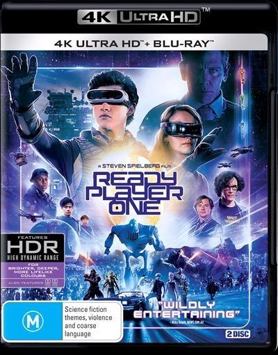 Ready Player One (4K UHD + Blu-ray) on UHD Blu-ray image