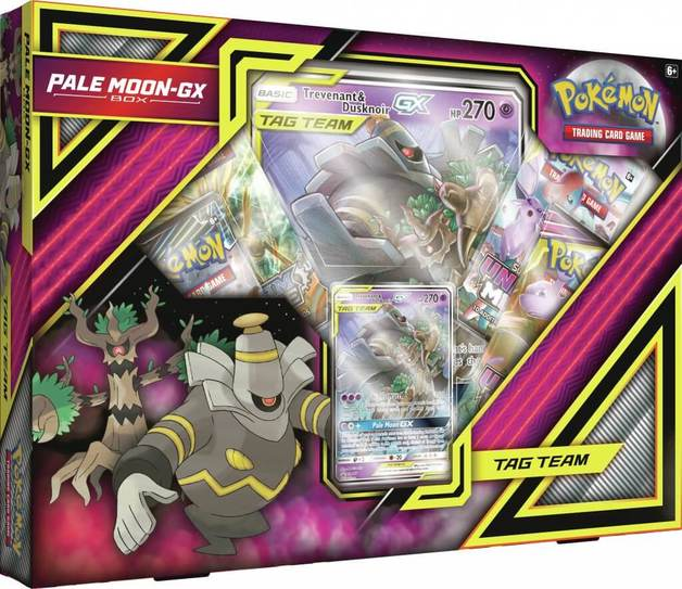Pokemon TCG: Pale Moon GX Box