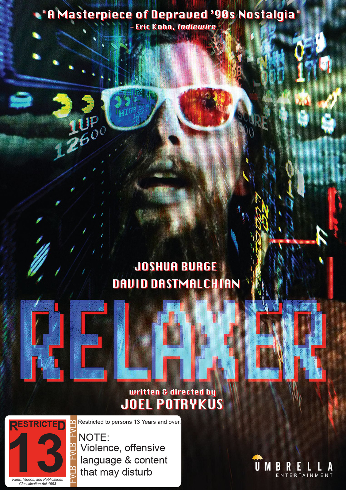 Relaxer on DVD image