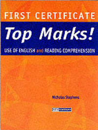 FC Top Marks! Use of English and Reading Comprehension: Teacher's Book by Nicholas Stephens image