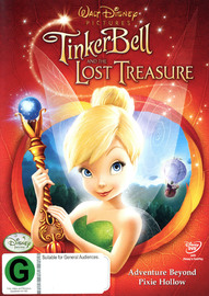 Tinker Bell and The Lost Treasure on DVD