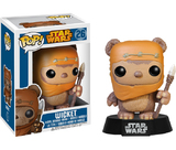 Star Wars Ewok Wicket Pop! Vinyl Bobble Head Figure