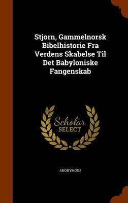 Stjorn, Gammelnorsk Bibelhistorie Fra Verdens Skabelse Til Det Babyloniske Fangenskab by * Anonymous