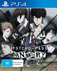 PSYCHO-PASS: Mandatory Happiness for PS4