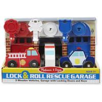 Melissa & Doug: Lock and Roll Rescue Garage