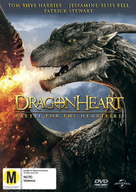Dragonheart 4: Battle for the Heartfire on DVD