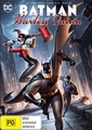 Batman and Harley Quinn on DVD