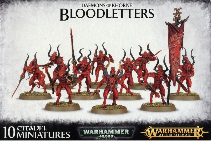 Warhammer Bloodletters of Khorne image