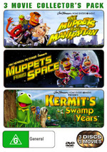 Muppets Take Manhattan / Muppets From Space / Kermit's Swamp Years - 3 Movie Collector's Pack (3 Disc Set) on DVD