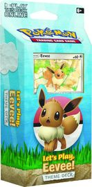 Pokemon TCG: Sun & Moon - Let's Play Theme Deck (Eevee)