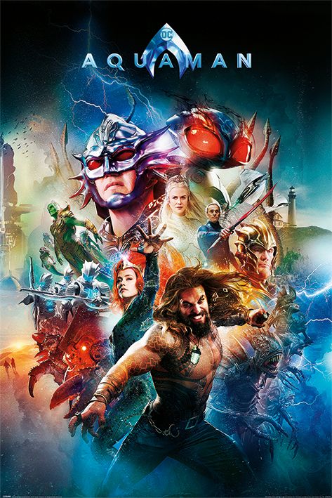 Aquaman Maxi Poster - Battle For Atlantis (991)