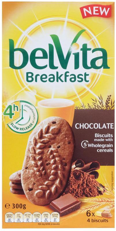 Belvita Breakfast Chocolate (300g)