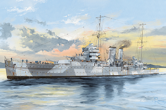 Trumpeter: HMS York - 1/350 Scale Model Kit