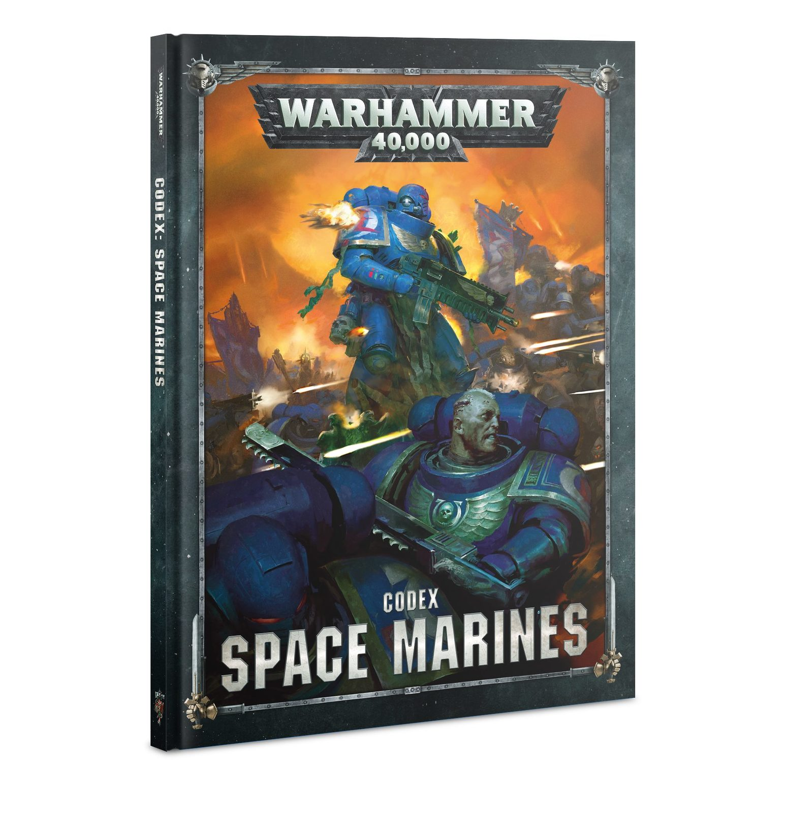 Warhammer 40,000 Codex: Space Marines image
