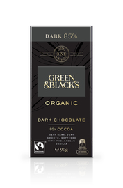 Green & Black's Organic Dark Chocolate 85% Cocoa (90g)