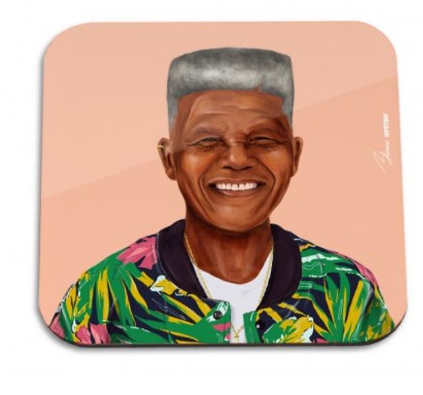 HipStory Coaster - Nelson Mandela