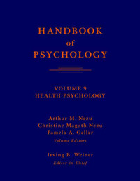 Handbook of Psychology: v. 9: Health Psychology image