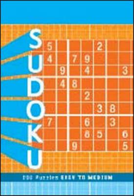Sudoku Puzzle Pad: Medium to Hard by Zachary Pitkow