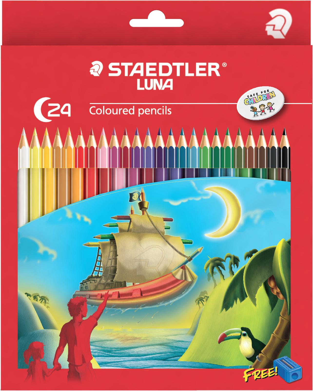 Staedtler Luna Colour Pencils Full (24 Pack) image