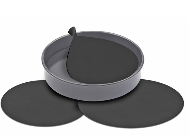 Non-Stick Reusable Cake Pan Liners (Set Of 3)