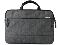 "15"" Incase City Collection Laptop Messenger Bag Heather Black/Gunmetal Gray"